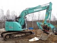 Kobelco SK 140 SRLC Dozer